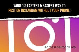 How To Instagram From Your PC Without Your Phone To Help Promotions!