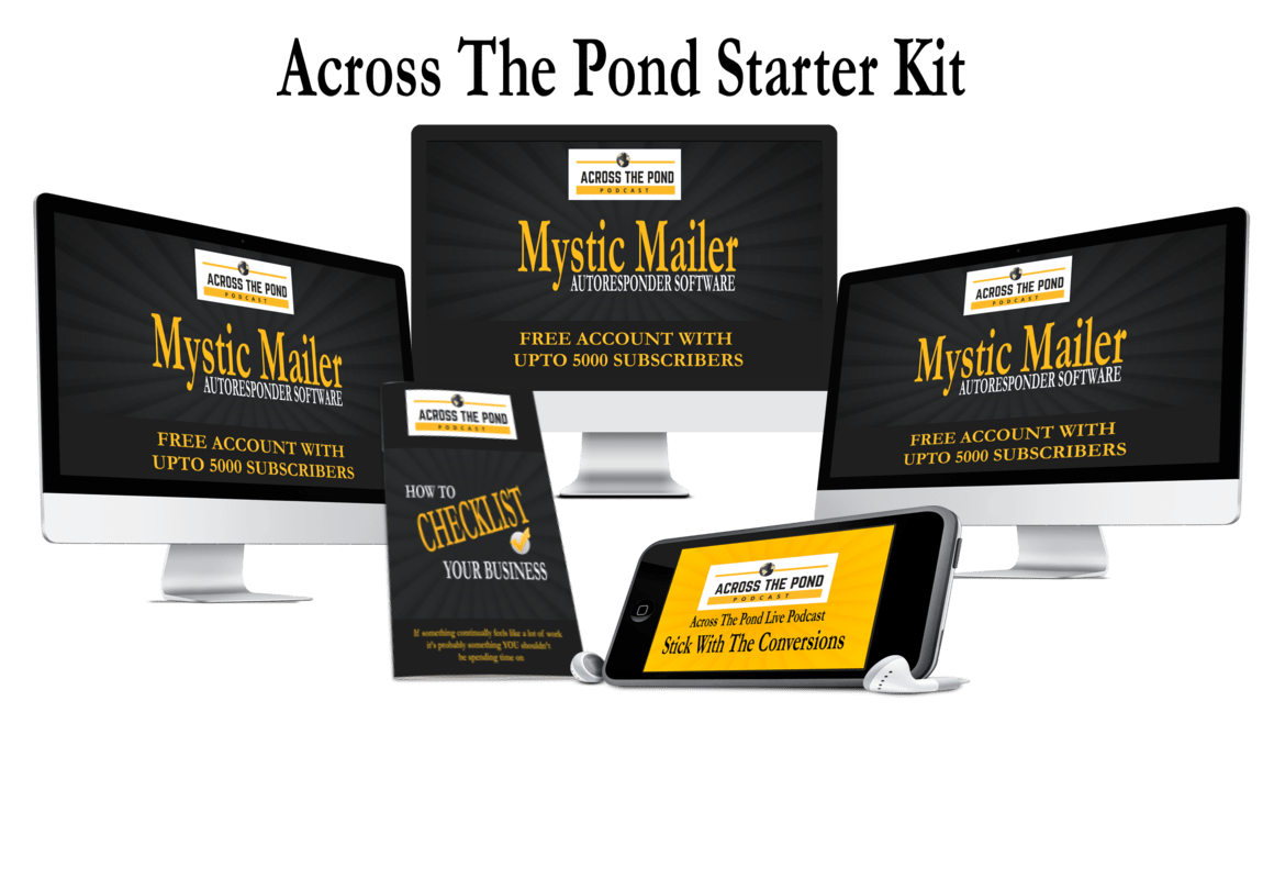 Across The Pond Live Business Success Starter Kit