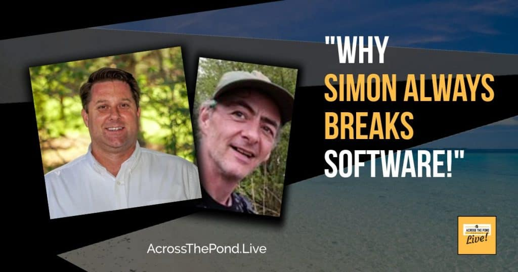 Customer Service Software and Why Simon Always Breaks Things